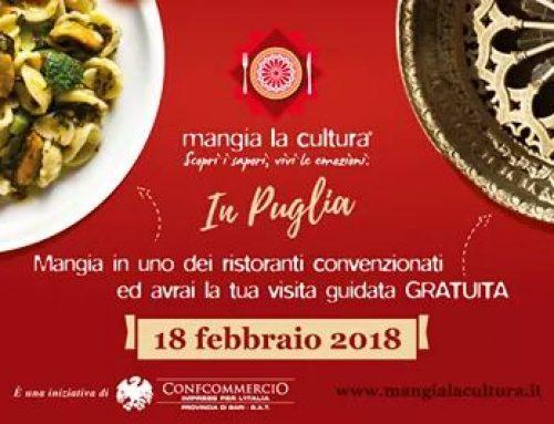 18 febbraio 2018, Mangia la cultura Andria ( Guida autorizzata Losito Annamaria, Ass. turistica Visita Castel del monte )
